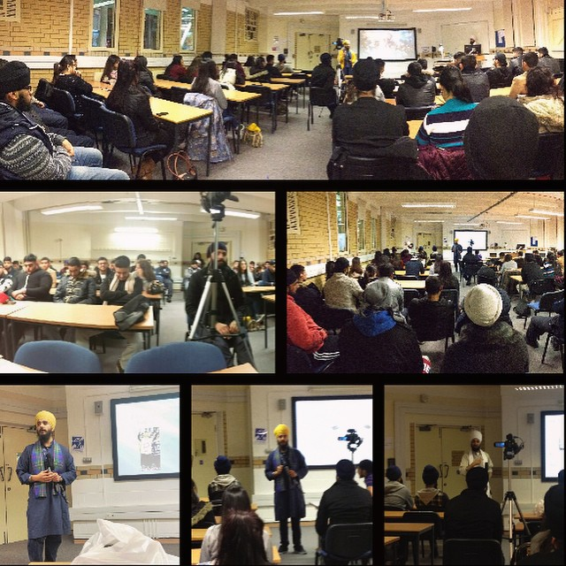 DMU Talk in the Queens Building