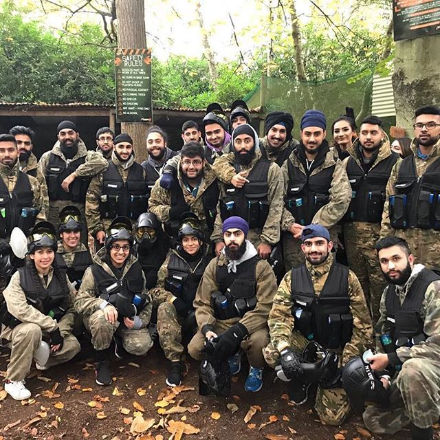 National Sikh Society Paint Balling Event