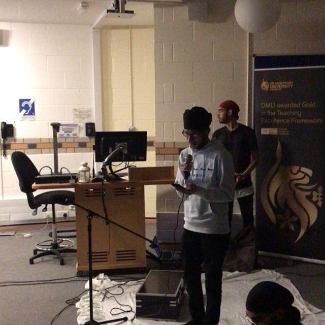Ardaas at Kirtan on Campus Event at DMU